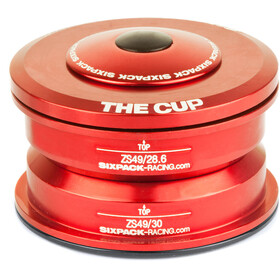 Sixpack The Cup Serie sterzo ZS49/28.6 I ZS49/30, red